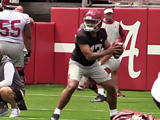Alabama Football Practice