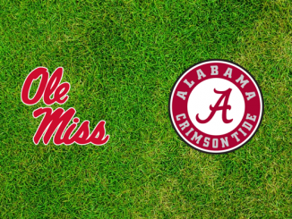 Ole Miss and Alabama logos