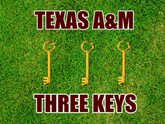 Three-keys-Texas A&M