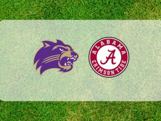 West Carolina and Alabama logos