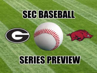 SEC Baseball Series Preview Georgia at Arkansas