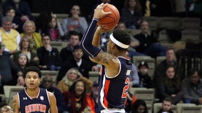 Auburn basketball player