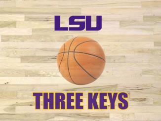 LSU basketball three keys