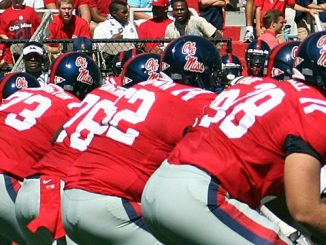 Ole Miss football players