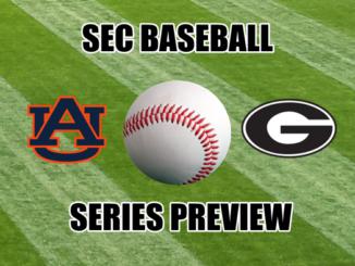 Georgia-Auburn SEC baseball series preview