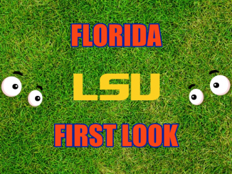 Eyes on LSU logo