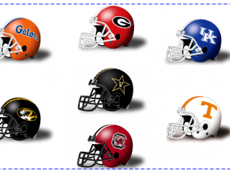 SEC-East-Football-Helmets