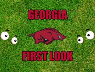 Georgia First look Arkansas