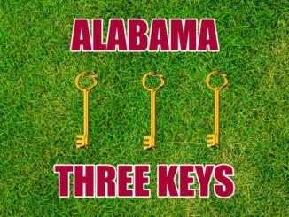 Alabama football Three-keys