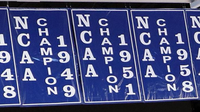 Kentucky basketball banners