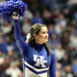 Kentucky Cheerleader at SEC-T 2019