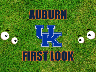 Auburn First look Kentucky
