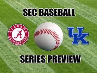 Kentucky-Alabama baseball series preview