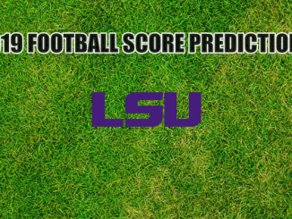 LSU Logo on grass