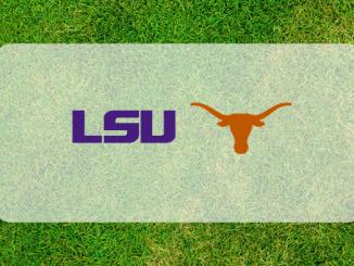 Texas and LSU logos