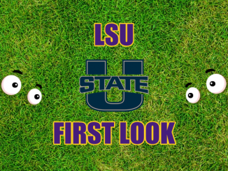 Eyes on Utah State logo