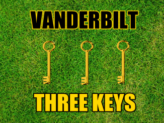 Three keys Vanderbilt