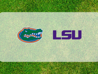 Florida and LSU logos