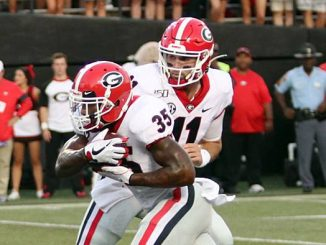 Jake Fromm and Brian Herrien