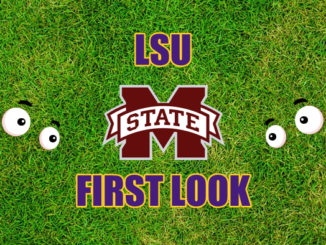 LSU First look Mississippi State