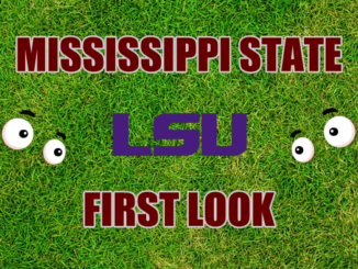Mississippi State First look LSU