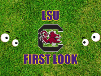 LSU First-look-South Carolina