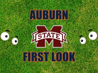 Eyes on Mississippi State logo