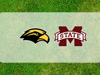 Mississippi State and Southern Miss logos