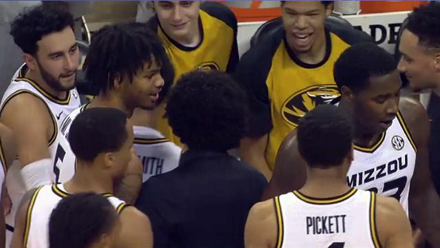 Missouri basketball players