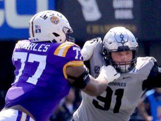 LSU and Vanderbilt football players 14Powers.com photo