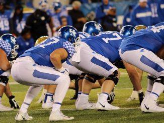 Kentucky football players