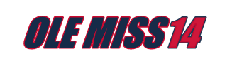 Ole Miss14 site logo