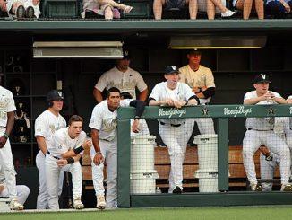 Vanderbilt baseball dugout