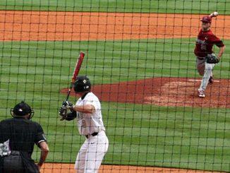 Vanderbilt batter and South Carolina pitcher