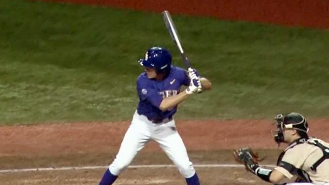 LSU Baseball batter
