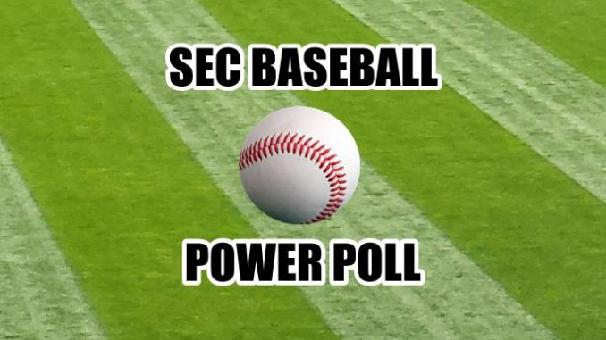 BASEBALL POWER POLL
