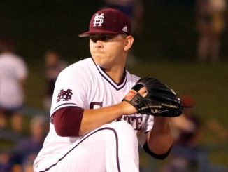 Mississippi State pitcher