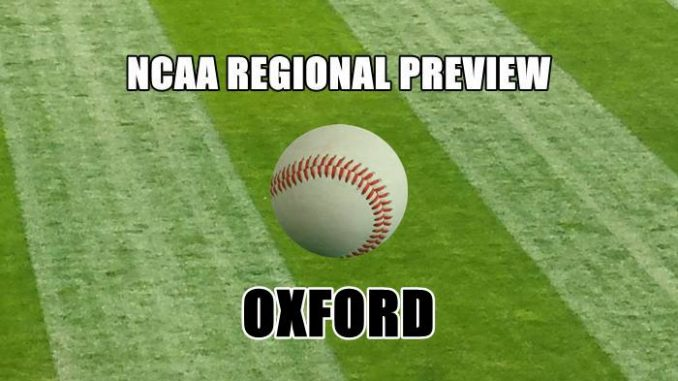 NCAA Regional Preview-Oxford