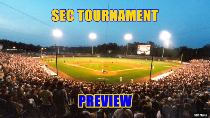SEC Baseball Tournament Preview