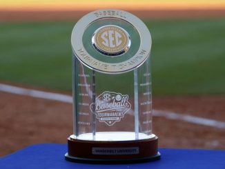 SEC Tournament Championship Trophy