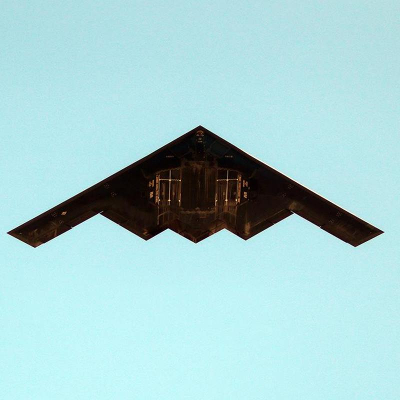B-2 Bomber bottom view Underbelly