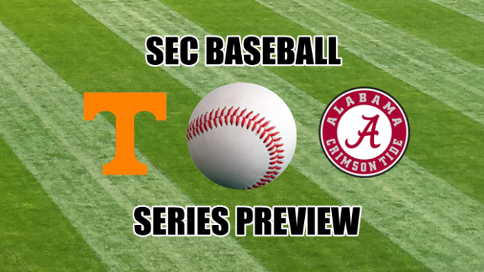 Alabama-Tennessee series preview