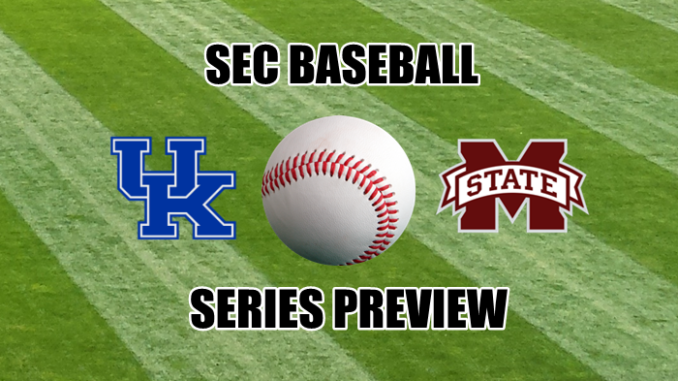 Mississippi State-Kentucky baseball preview