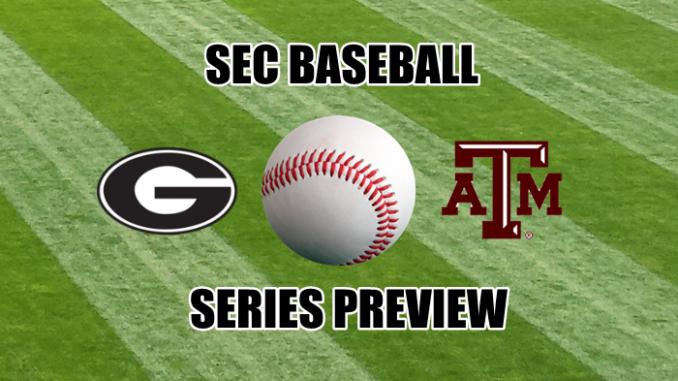 Georgia-Texas A&M baseball series preview