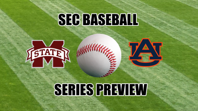 Auburn-Mississippi State baseball series preview
