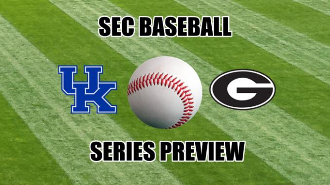 Georgia-Kentucky baseball series preview