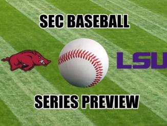 LSU-Arkansas SEC baseball series preview