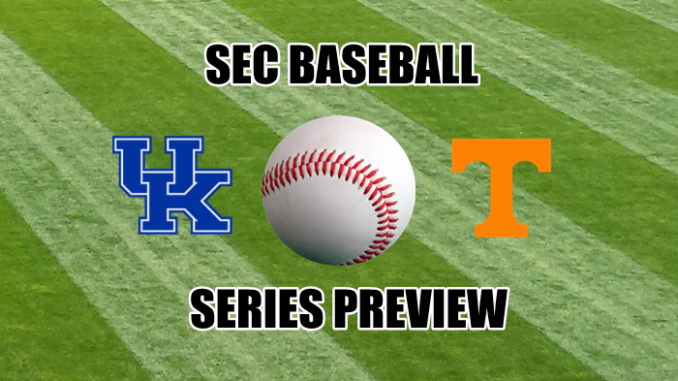 SEC Baseball Preview Kentucky at Tennessee