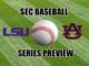 SEC Baseball Series Preview LSU at Auburn
