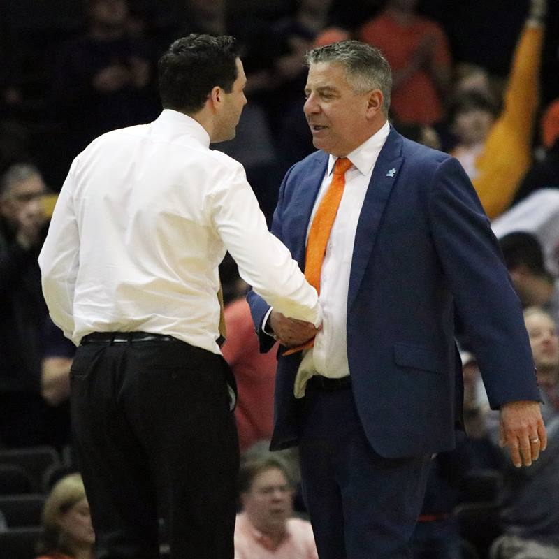 Bryce Drew and Bruce Pearl